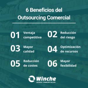qué es el outsourcing comercial y cuáles son sus beneficios